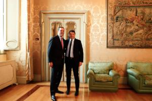 Robbins e Renzi