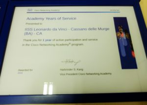 Cisco Academy Award 2016 - Da Vinci