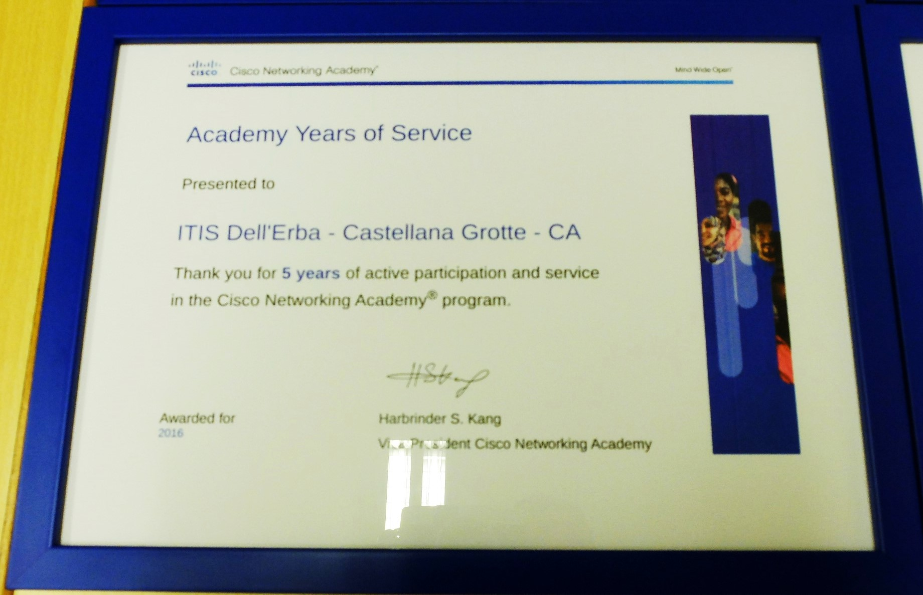 Cisco Academy Award 2016 - Dell'Erba