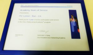 Cisco Academy Award 2016 - Lenoci