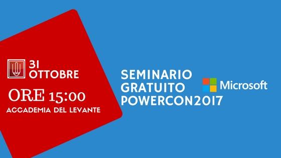 locandina seminario POWERCON2017