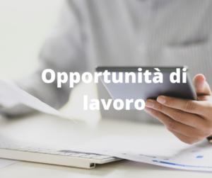 Opportunità di lavoro (1)