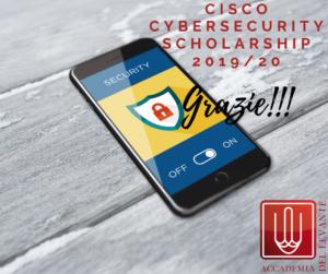 Cisco Cybersecurity Scholarship 2019_20